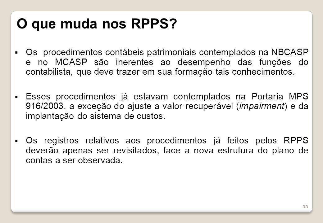 O que muda nos RPPS