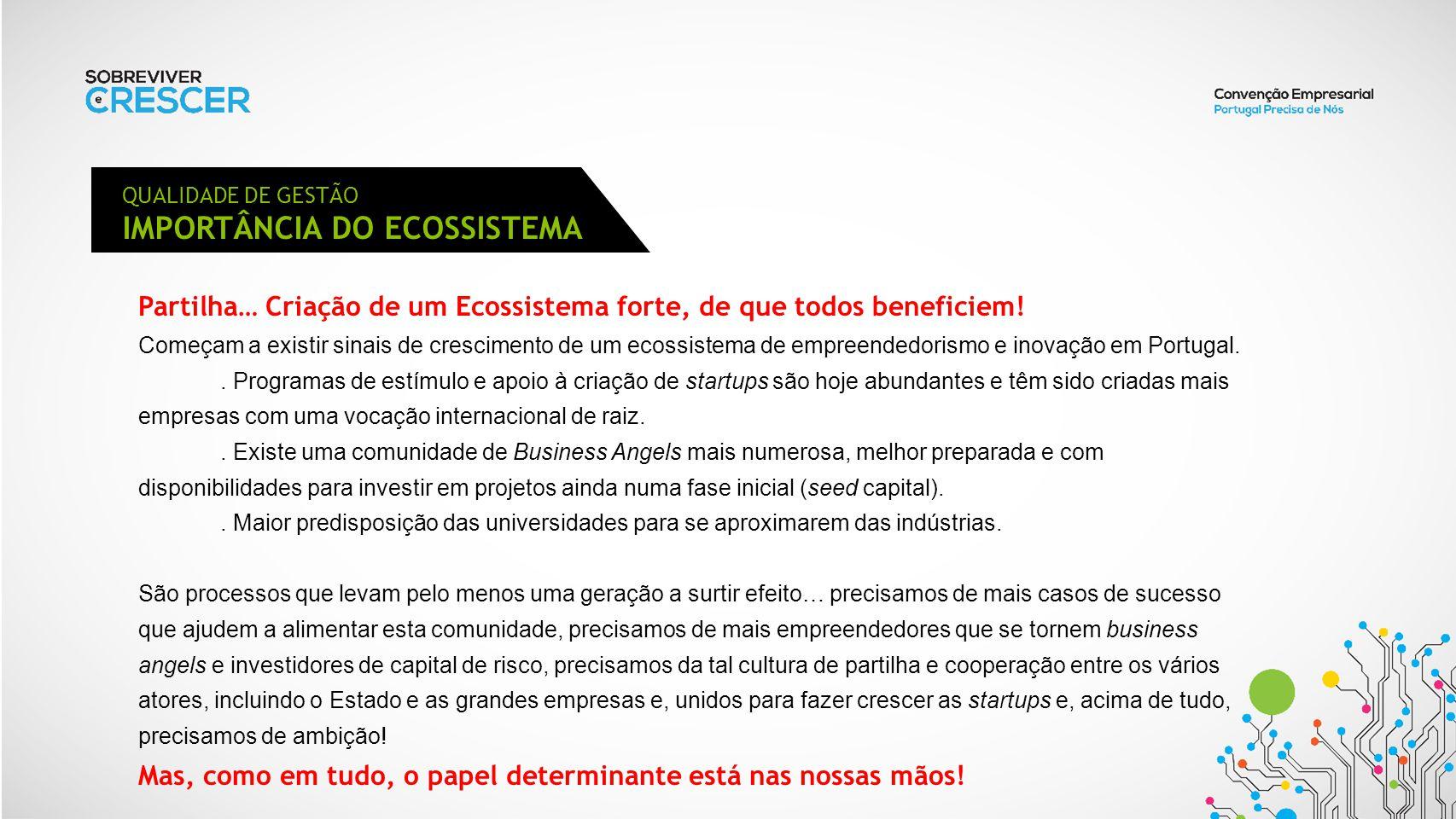 IMPORTÂNCIA DO ECOSSISTEMA