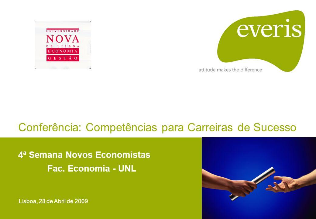 Conferência: Competências para Carreiras de Sucesso