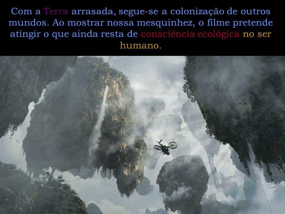 Com a Terra arrasada, segue-se a colonização de outros mundos