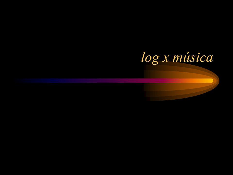log x música