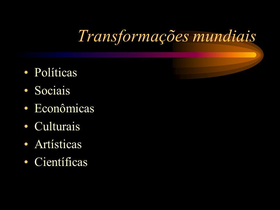 Transformações mundiais