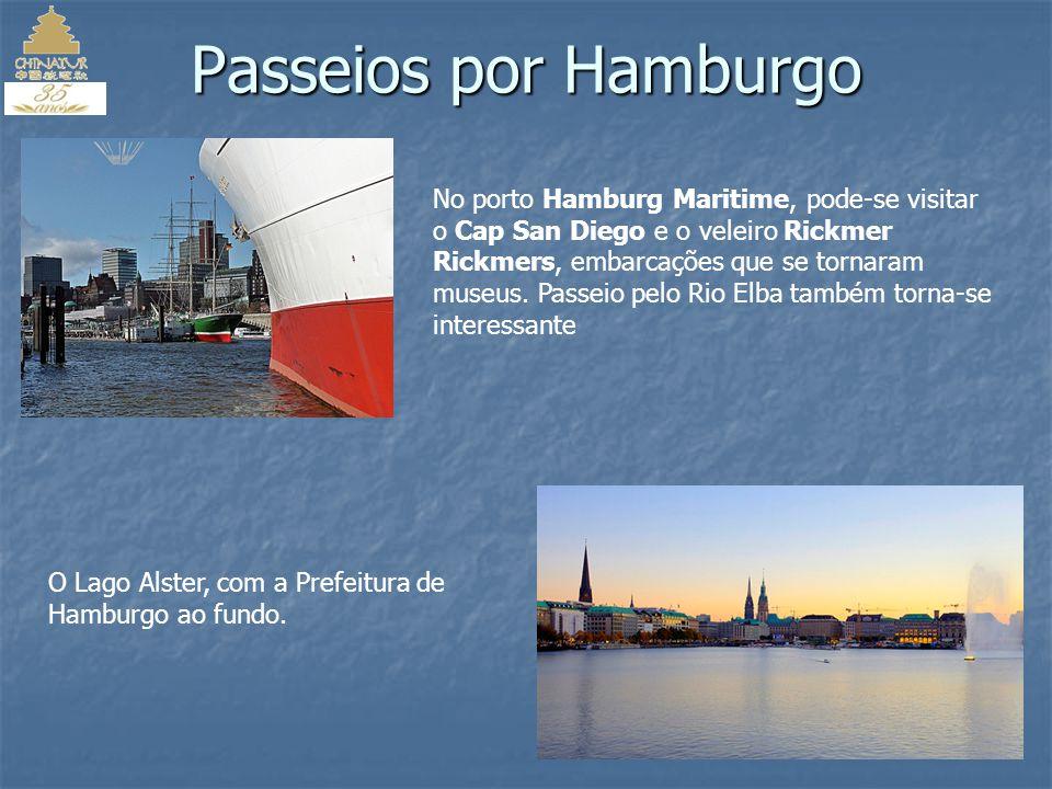 Passeios por Hamburgo