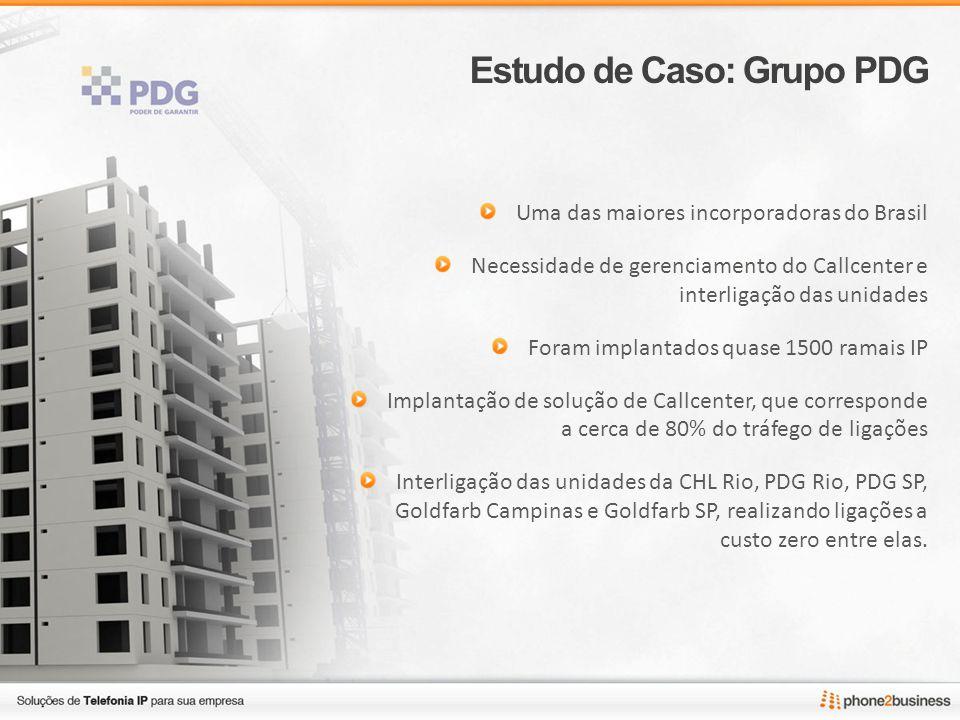 Estudo de Caso: Grupo PDG