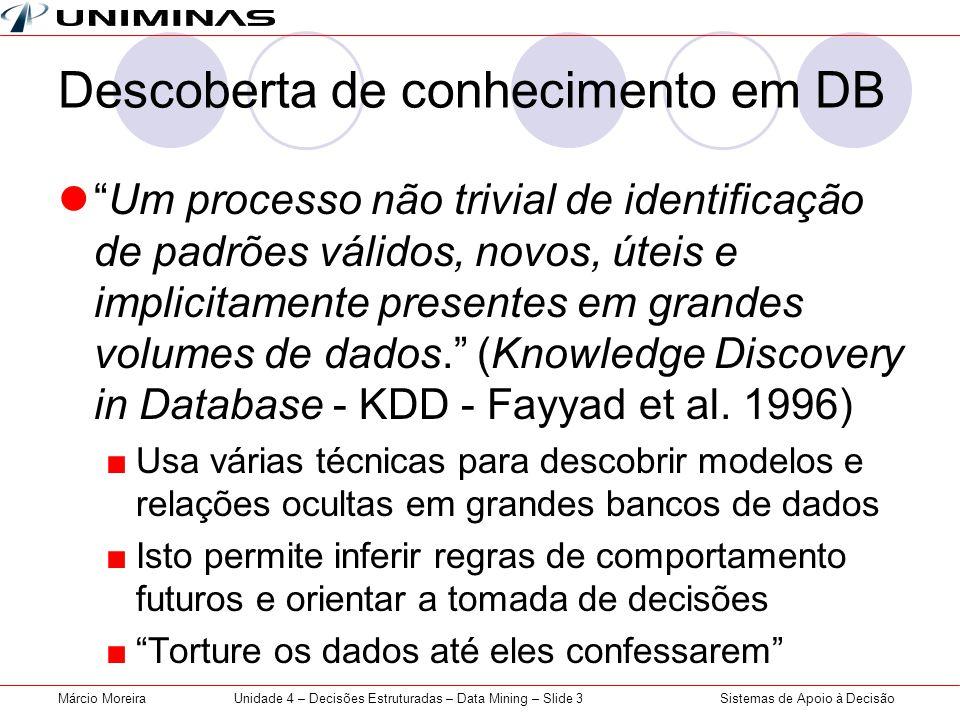 Descoberta de conhecimento em DB