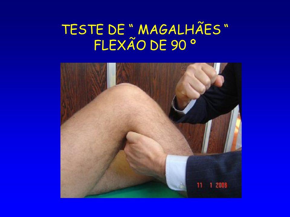 TESTE DE MAGALHÃES FLEXÃO DE 90 º