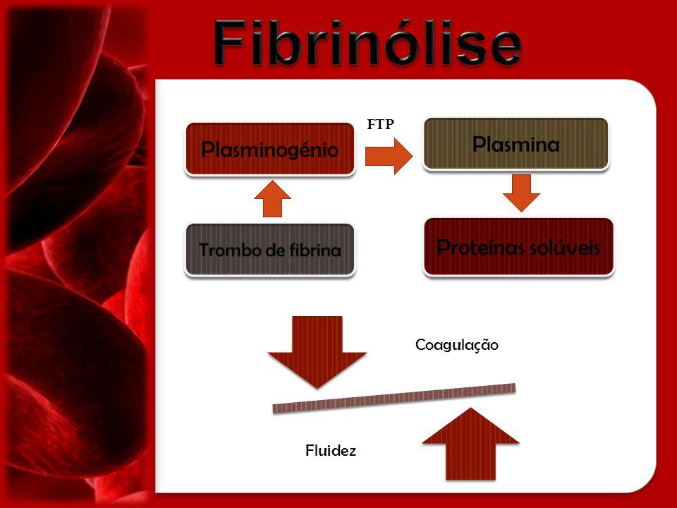 Fibrinólise Plasmina Plasminogénio Proteínas solúveis