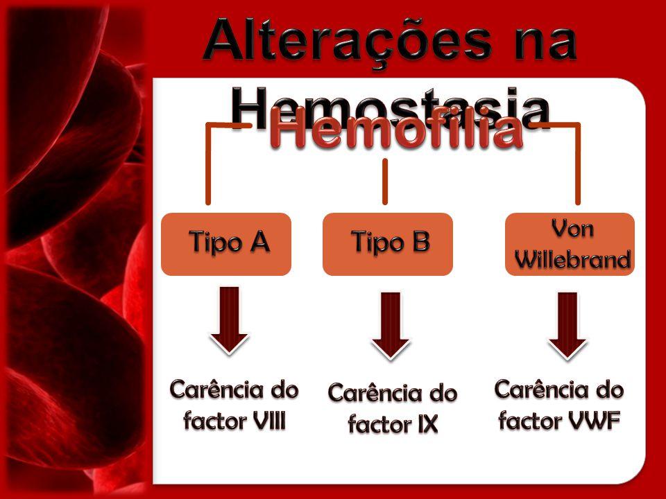 Alterações na Hemostasia