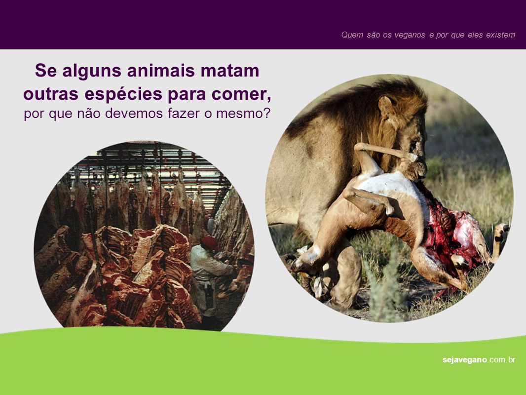 Quem são os veganos e por que eles existem