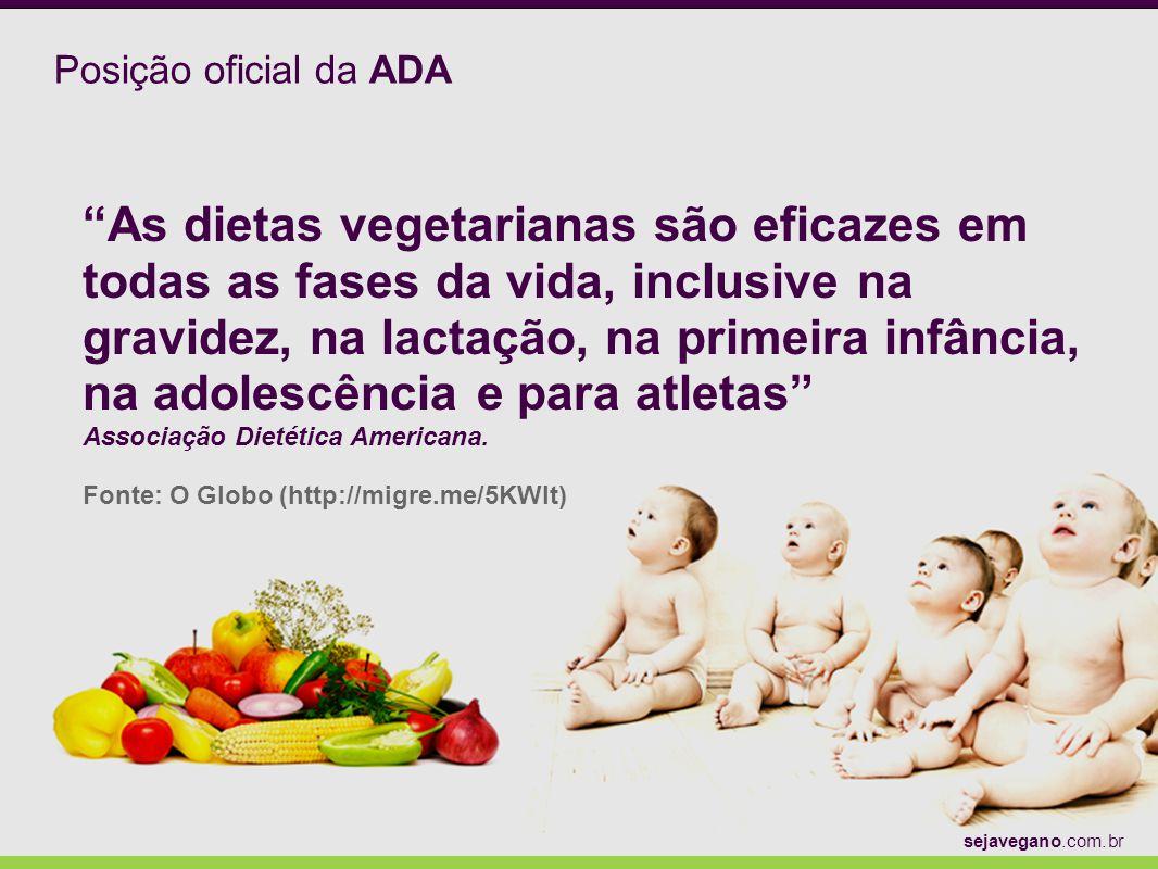Posição oficial da ADA