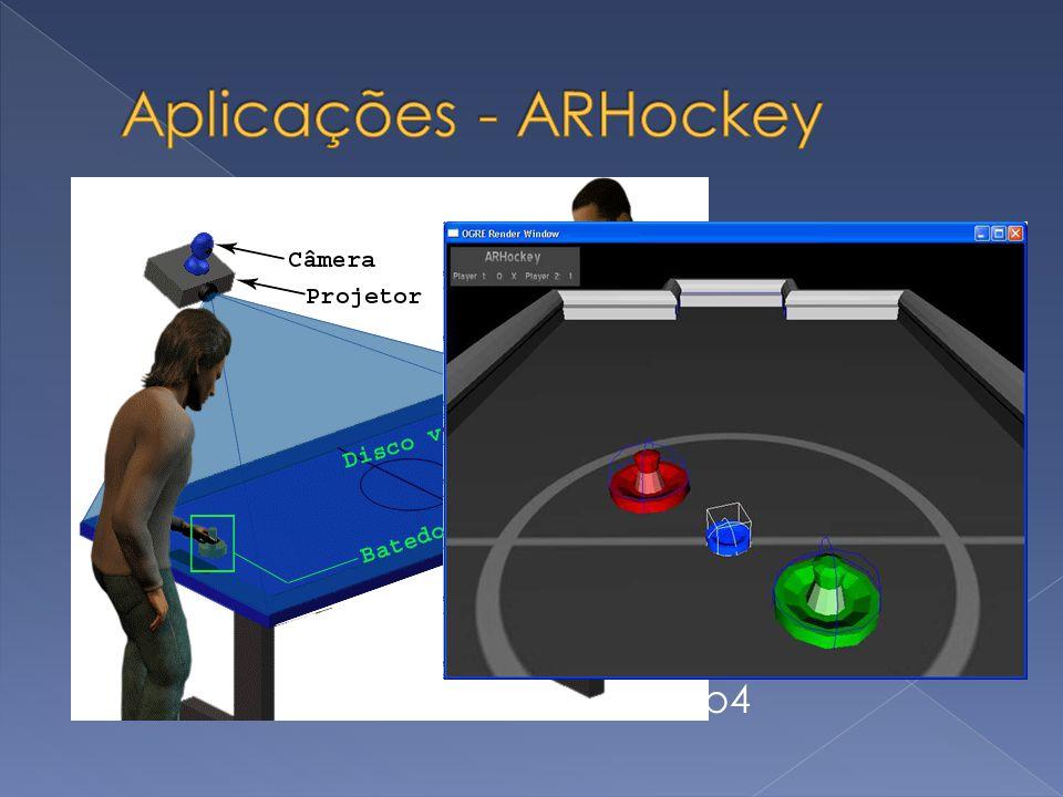 Aplicações - ARHockey OpenCV OpenGL ODE – Open Dynamics Engine Demo
