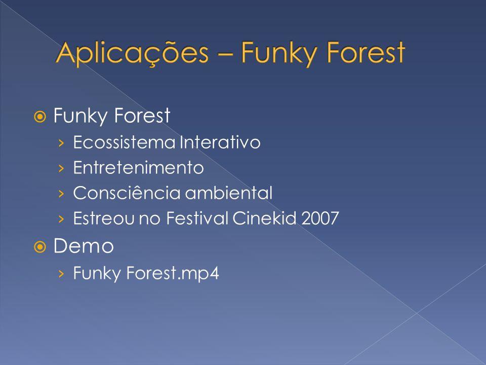 Aplicações – Funky Forest
