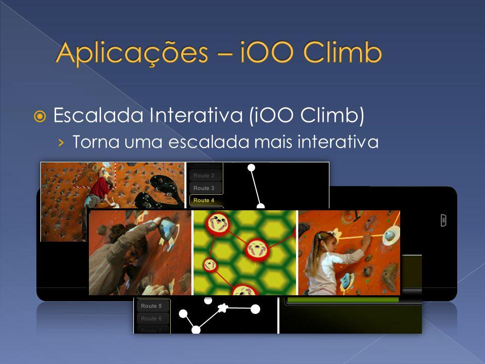 Aplicações – iOO Climb Escalada Interativa (iOO Climb)