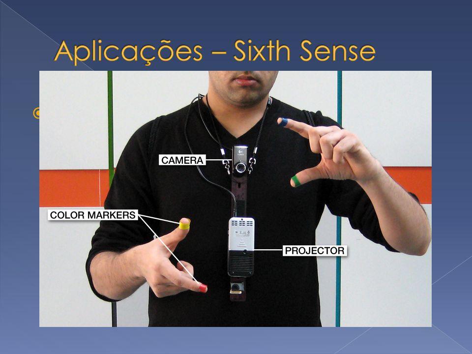 Aplicações – Sixth Sense