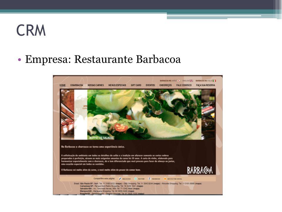 CRM Empresa: Restaurante Barbacoa