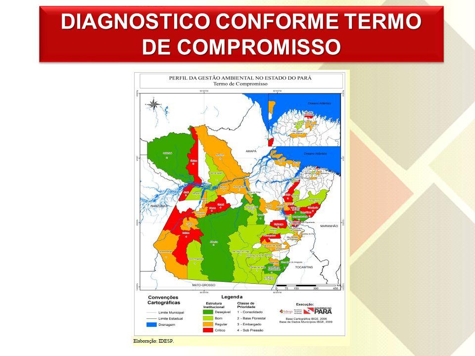DIAGNOSTICO CONFORME TERMO DE COMPROMISSO