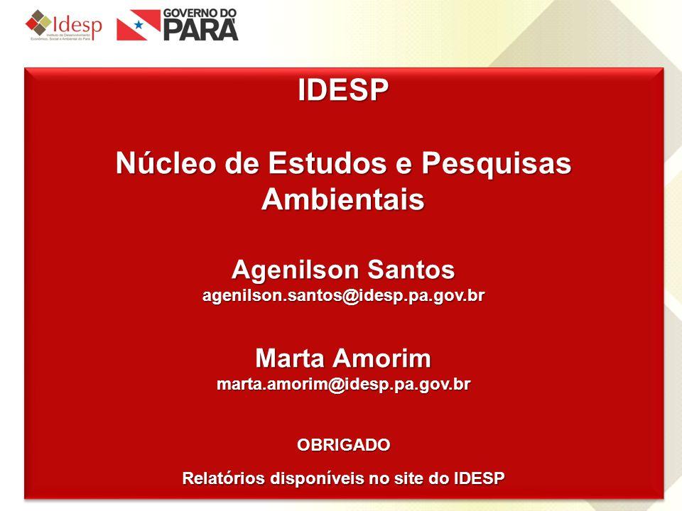 IDESP Núcleo de Estudos e Pesquisas Ambientais