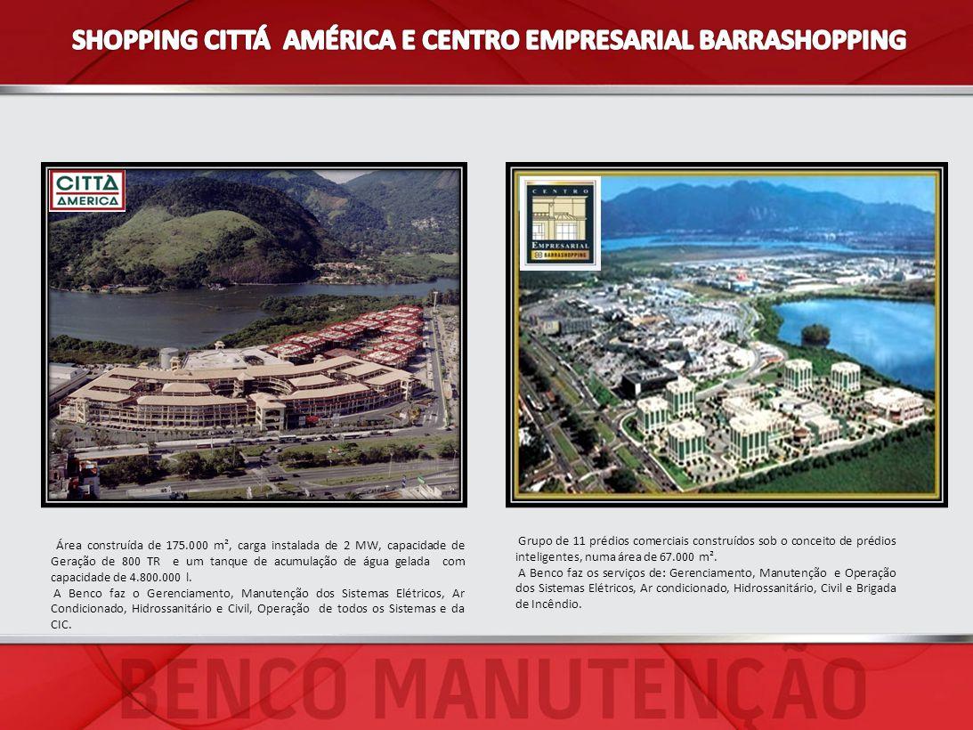 SHOPPING CITTÁ AMÉRICA E CENTRO EMPRESARIAL BARRASHOPPING