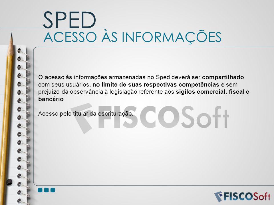 SPED ACESSO ÀS INFORMAÇÕES