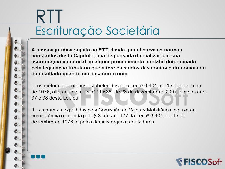 RTT Escrituração Societária