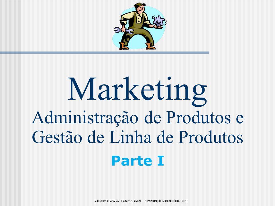 Marketing Administração de Produtos e Gestão de Linha de Produtos Parte I