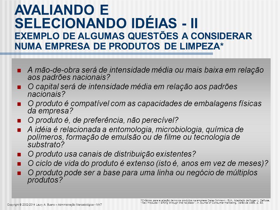 SELECIONANDO IDÉIAS - II