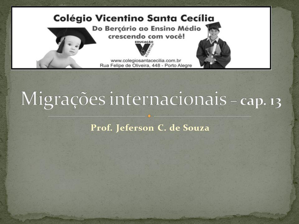 Migrações internacionais – cap. 13