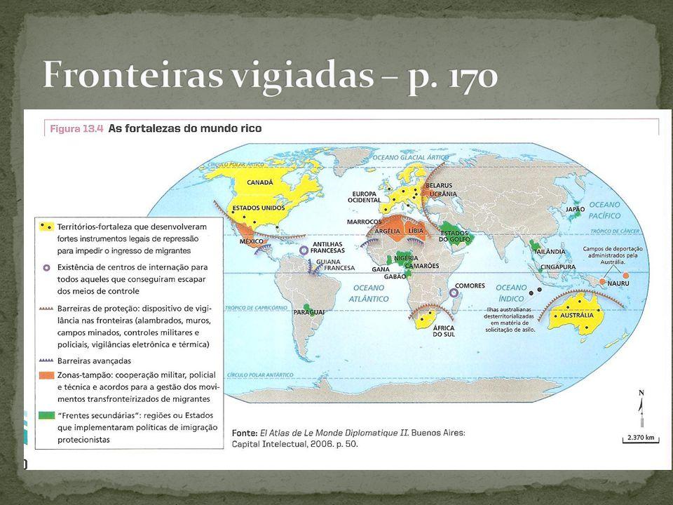 Fronteiras vigiadas – p. 170