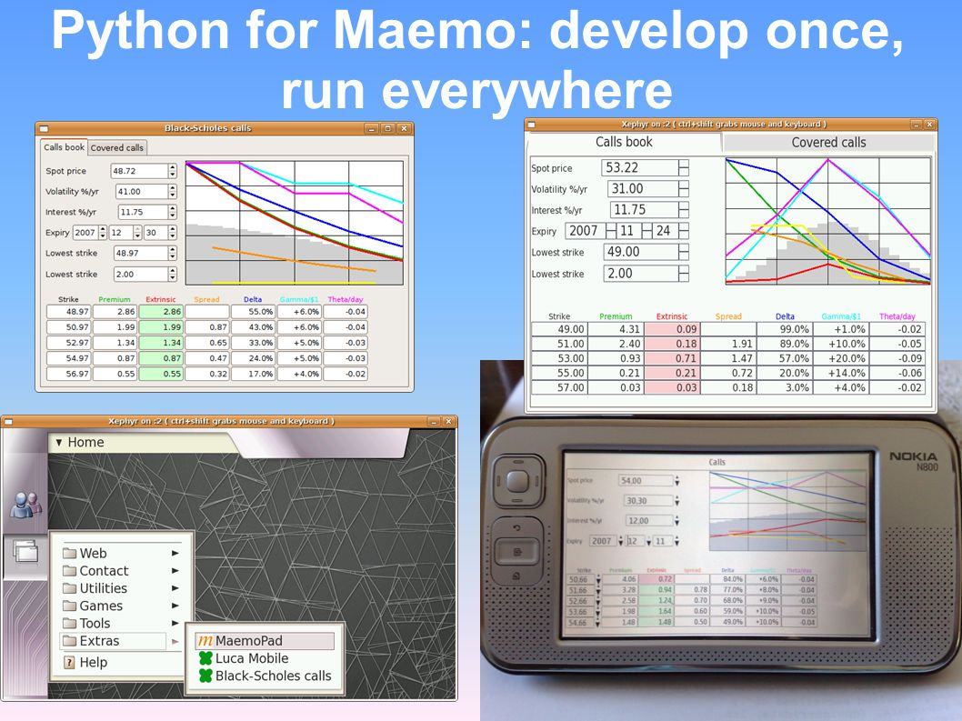 Python for Maemo: develop once, run everywhere