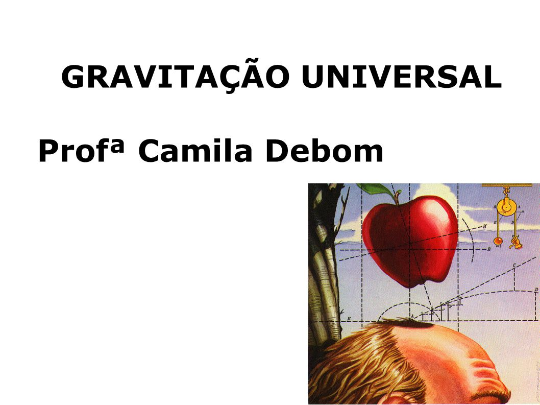 GRAVITAÇÃO UNIVERSAL Profª Camila Debom