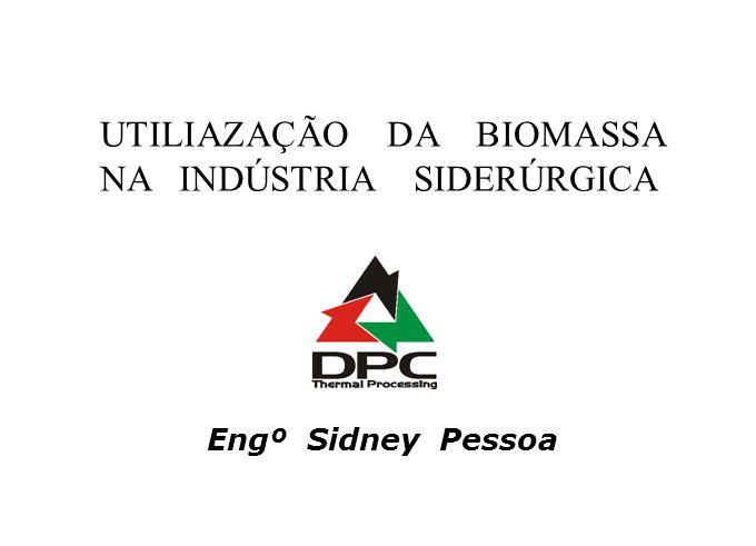 UTILIAZAÇÃO DA BIOMASSA NA INDÚSTRIA SIDERÚRGICA