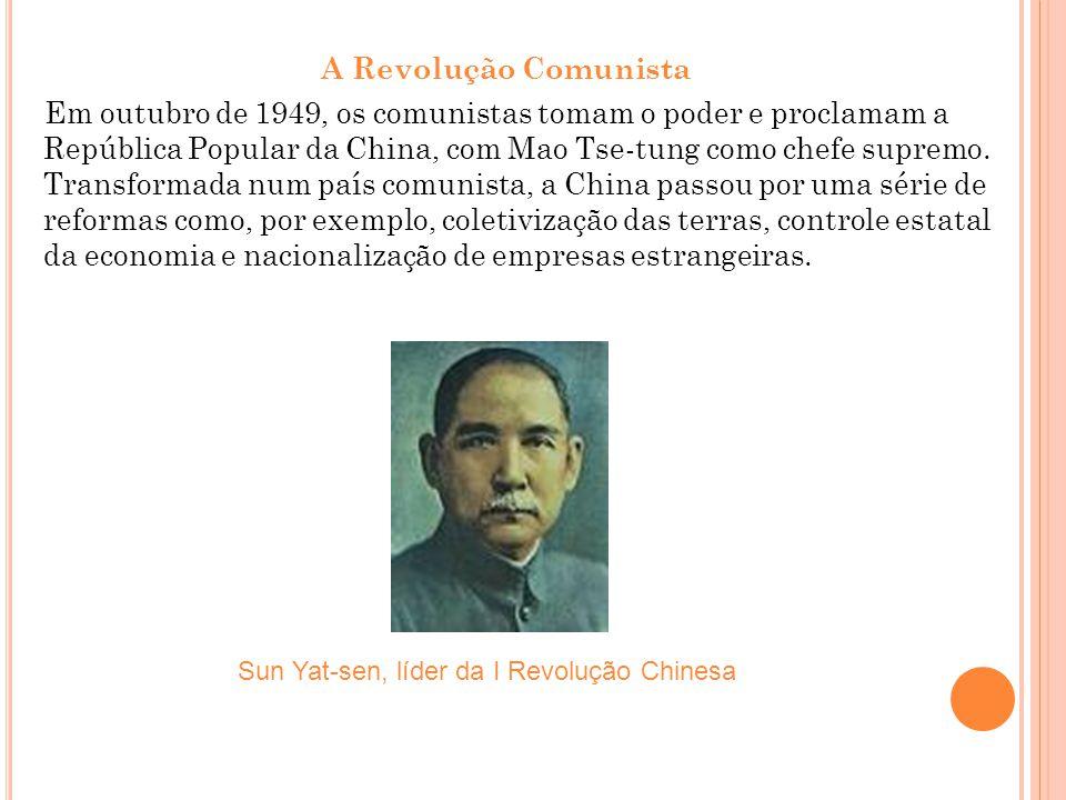 Sun Yat-sen, líder da I Revolução Chinesa