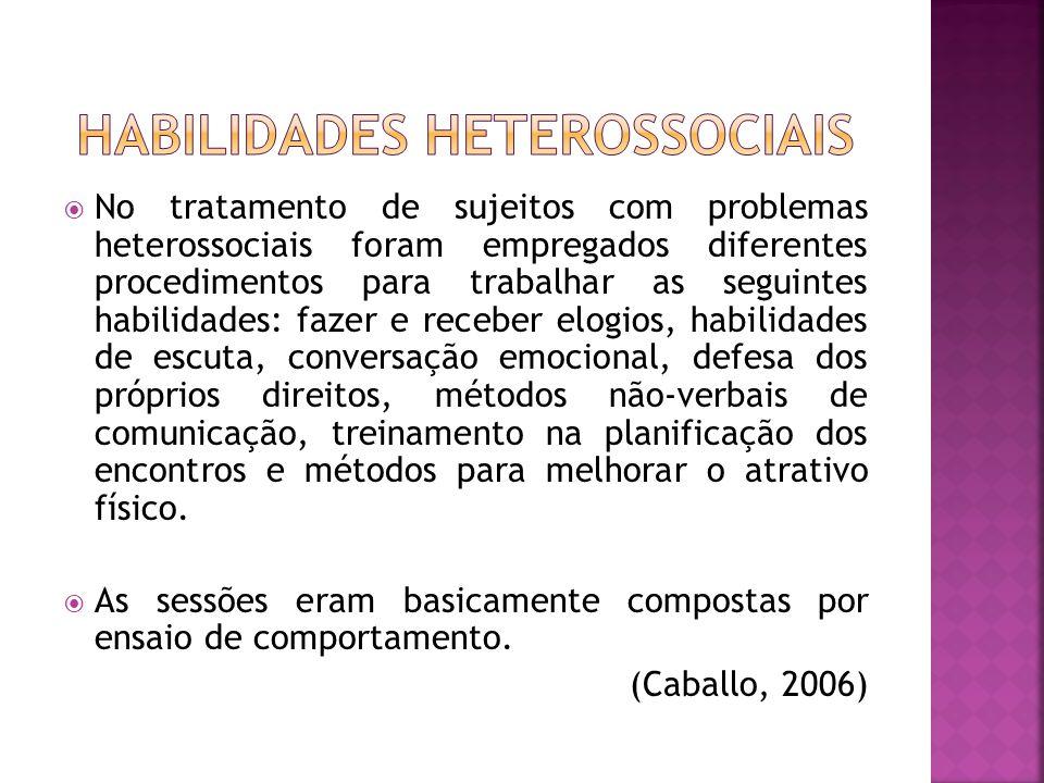 Habilidades heterossociais