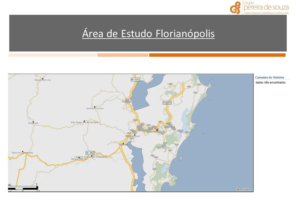Área de Estudo Florianópolis