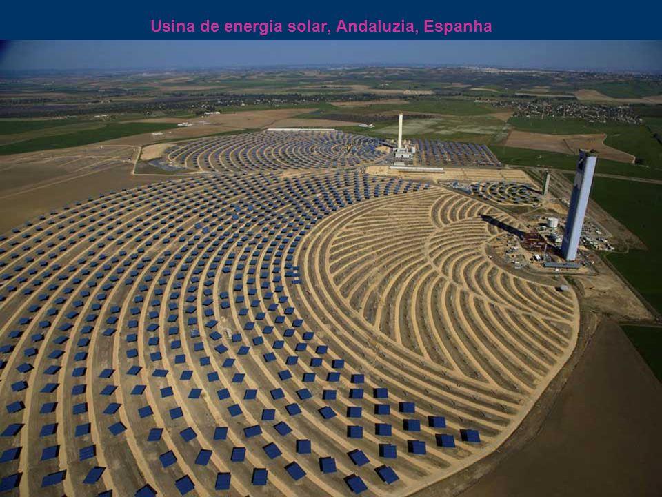 Usina de energia solar, Andaluzia, Espanha
