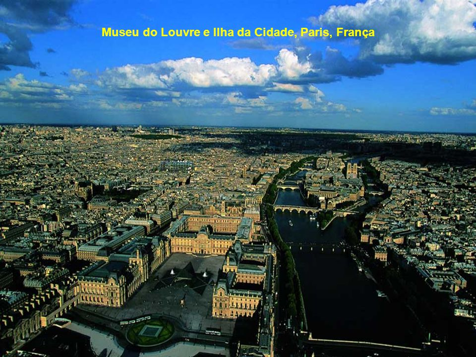 Museu do Louvre e Ilha da Cidade, Paris, França
