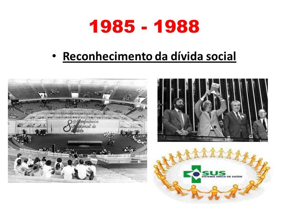 Reconhecimento da dívida social