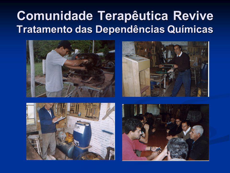 Comunidade Terapêutica Revive Tratamento das Dependências Químicas