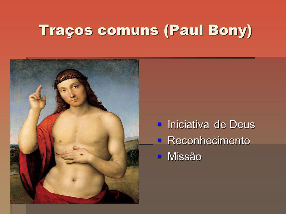 Traços comuns (Paul Bony)