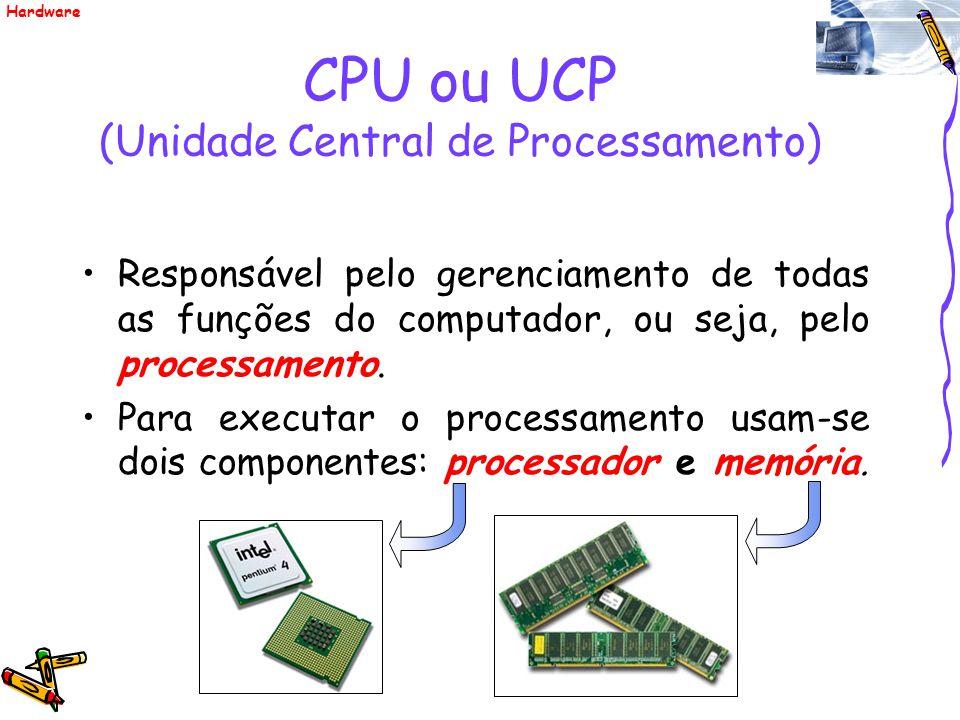 CPU ou UCP (Unidade Central de Processamento)
