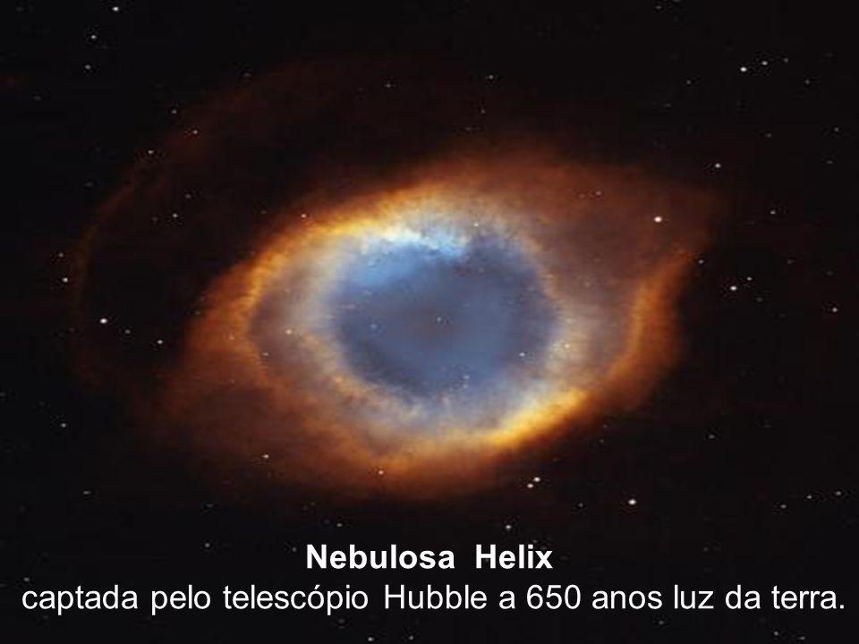 captada pelo telescópio Hubble a 650 anos luz da terra.