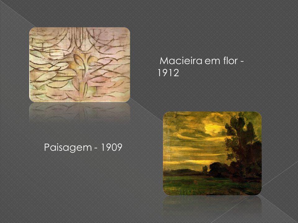 Macieira em flor - 1912 Paisagem - 1909