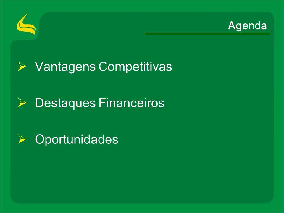 Vantagens Competitivas Destaques Financeiros Oportunidades
