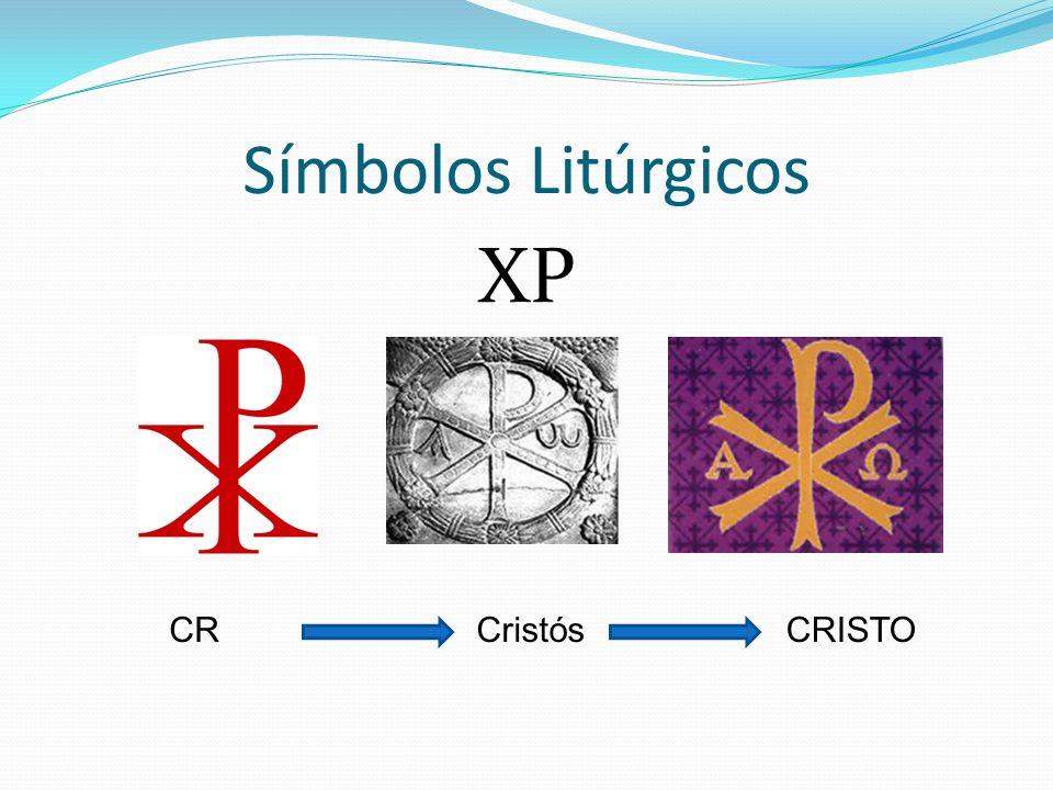 Símbolos Litúrgicos XP CR Cristós CRISTO