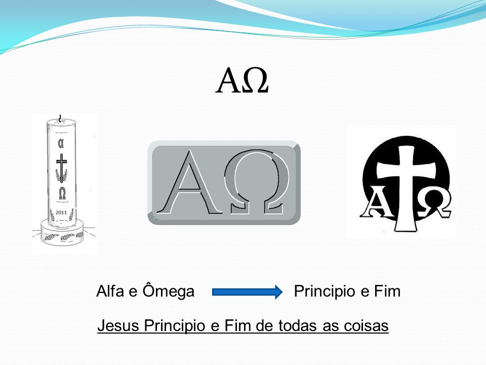 Jesus Principio e Fim de todas as coisas