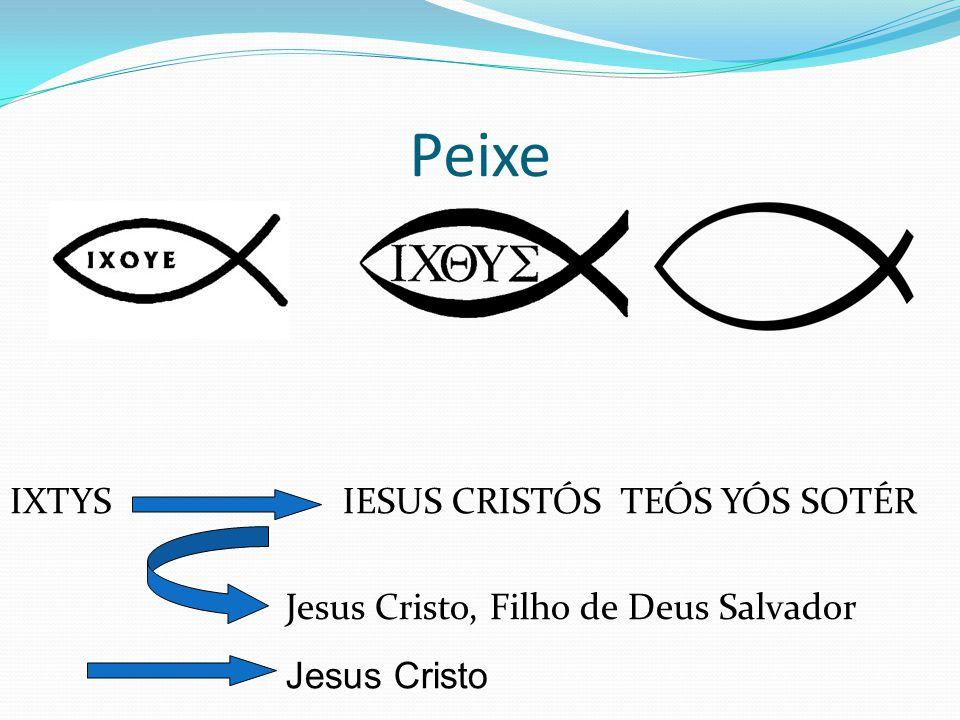 Peixe IXTYS IESUS CRISTÓS TEÓS YÓS SOTÉR