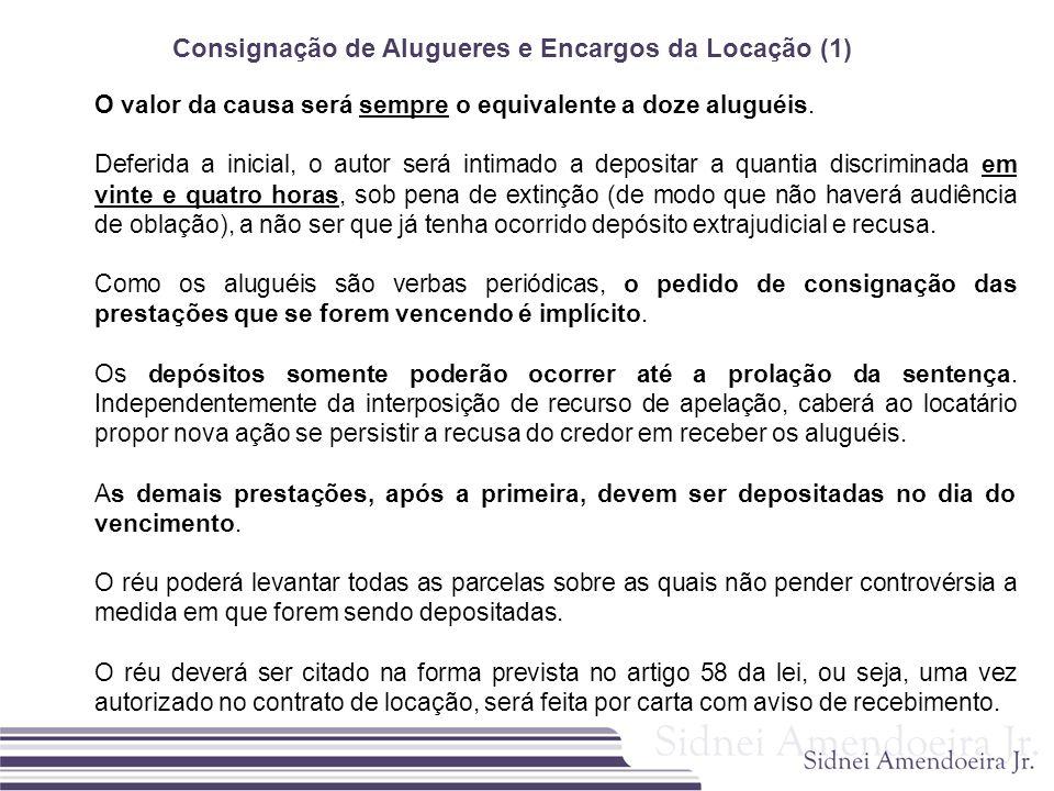 Consignação de Alugueres e Encargos da Locação (1)