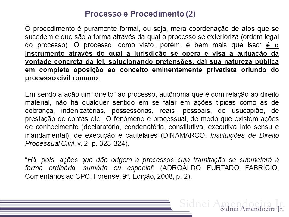 Processo e Procedimento (2)