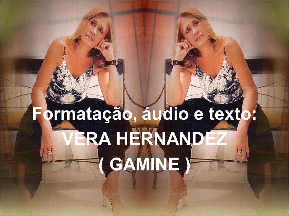 Formatação, áudio e texto: