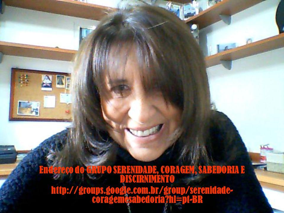 Endereço do GRUPO SERENIDADE, CORAGEM, SABEDORIA E DISCIRNIMENTO